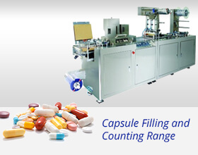Capsule Filling and Counting Range