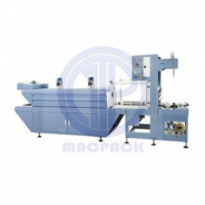 Sleeve Wrapping Machine For Cylinder Shape