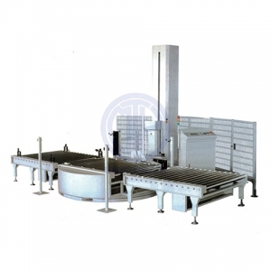 Fully Automatic Pallet Pre-Stretch Wrapper