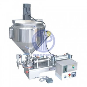 Paste Filing Machine with Heater and Stirrer Semi-auto