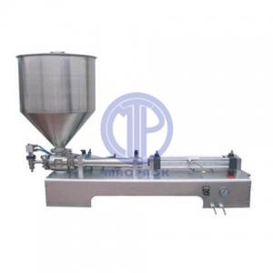 Semi Auto Paste Filling Machine