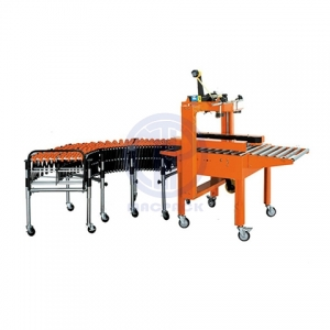 Semi Automatic Mini Side Belt Carton Sealer