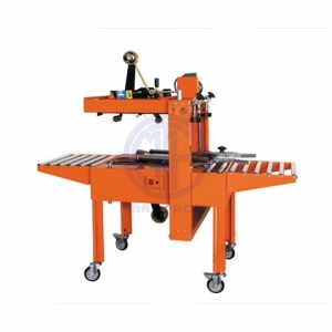 Semi Automatic Top and Bottom Belt Carton Sealer