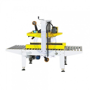 Semi Automatic Top and Side Belt Carton Sealer
