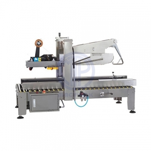 Automatic Stainless-steel Fold Flap Carton Sealer
