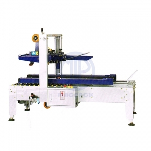 Semi Automatic Carton Sealer with Bottom Erector